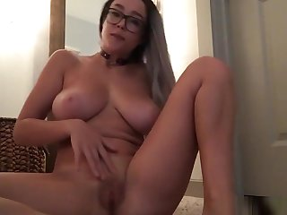 Hot added to busty girl is get-at-able to cum for you