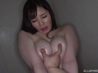 Home amateur video yon big natural tits Fujishiro Momone getting fucked