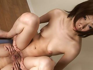 Asian, Brunette, Japanese, Shave, Small tits, Solo, Tits,