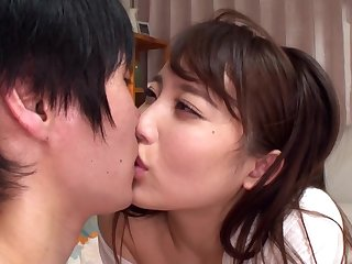 japanese ol enjoys some coworkers dick