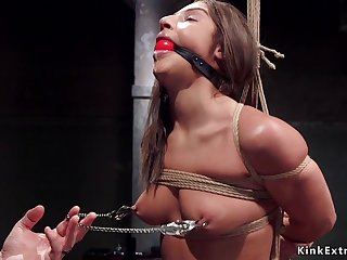 18Yo slave trainee is pain in the neck fuck fornicateed