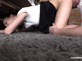 Sexual delight for the curvy ass amateur in full POV