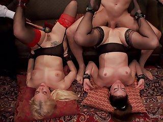 Extra passionate maledom XXX fantasy in foursome