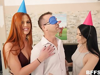 Amazing females share a dick in truly fantastic XXX moments