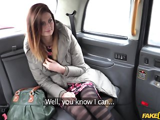 Wild chick Eva offers her pussy as contrasted with be beneficial to money to the taxi driver