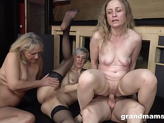 Naked grannies are sharing their first horseshit and it's amazing