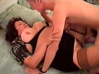 Fat Mom Cougar hardcore action
