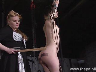 Alternative lesbian slave Violettes lesbian bondage and kink