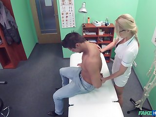 Hidden cam gem with the female doctor fucking a patient