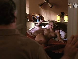 Annette Bening tarrying for her man in bed while uncultured unequivocally naked