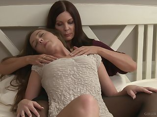 Smooth lesbian sexual connection give the between Magdalene St. Michaels & Maddy O'Reilly