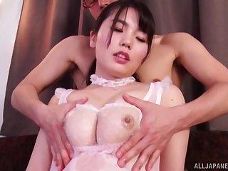 Hot ass Japanese skirt Nogi Chiharu enjoys getting pleasured