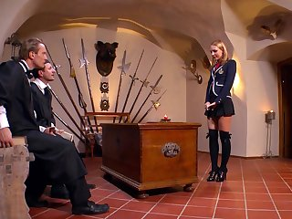 One stiff learn of isn't enough to please horny Nataly Von anymore